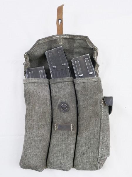 WH Sturmgewehr MP 44 Magazintasche + 3x DENIX Magazine StGw44