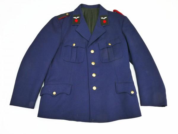 Reichsbahn Uniform Jacke mit original Kragenspiegeln u. Schulterklappen