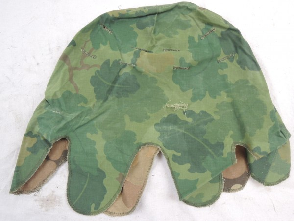 US Army Mitchell Helmet Cover Leaf Pattern Reverseable M1 Helmbezug Vietnam