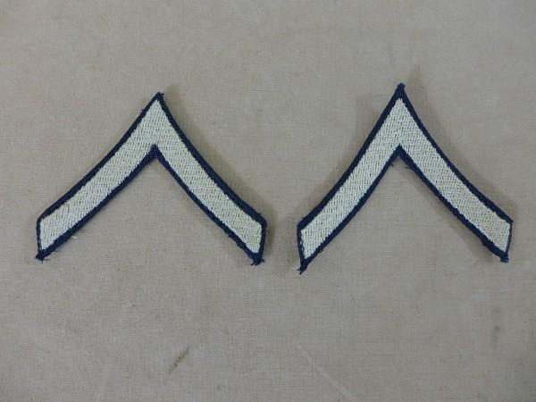 US ARMY WW2 Ranks Dienstgradabzeichen Private 1st class Uniform Rang Abzeichen