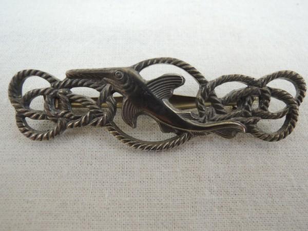 Wehrmacht Marine Kleinkampfmittel Abzeichen Bronze an Nadel