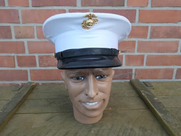 US Marine Cap Schirmmütze Parademütze Size 7 Gr. 56