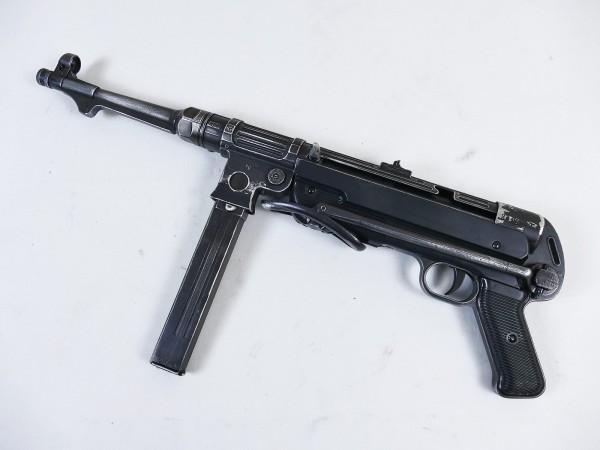 Wehrmacht MP38 Maschinenpistole Deko Modell Filmwaffe Metall Denix MP 38 #5