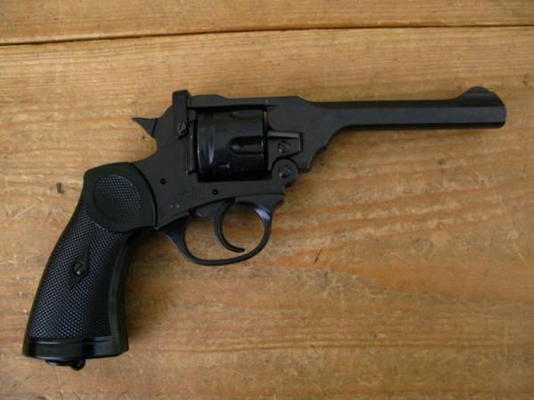 Webley MK4 Revolver Deko Modell Filmwaffe