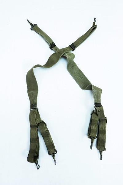 Original US Army WW2 Suspenders Tragegurt Koppeltragegestell M1936