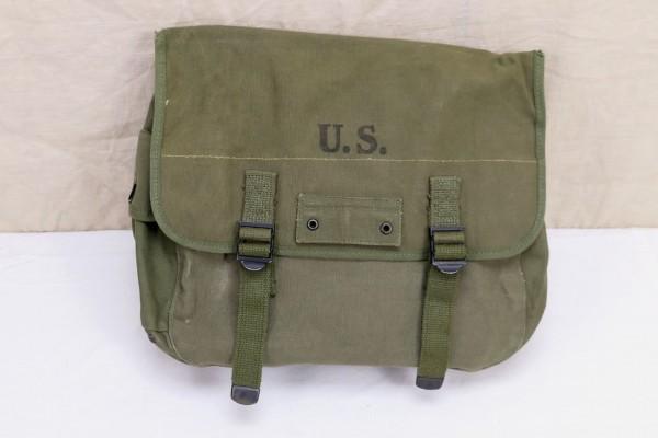 Original US WW2 MUSETTE BAG 1945 Field Bag Tasche Kampftasche Canvas