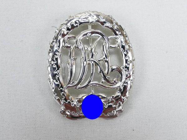 Deutsches Sportabzeichen Reichssportabzeichen in Silber DRGM Hensler Pforzheim