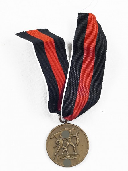 Medaille zur Erinnerung an den 1. Oktober 1938 / Sudetenland