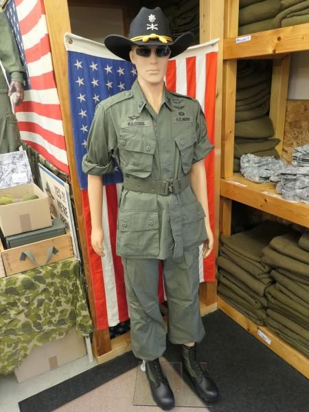 US Army Vietnam Jungle M 64 Uniform Lt. Colonel Bill Kilgore Kostüm