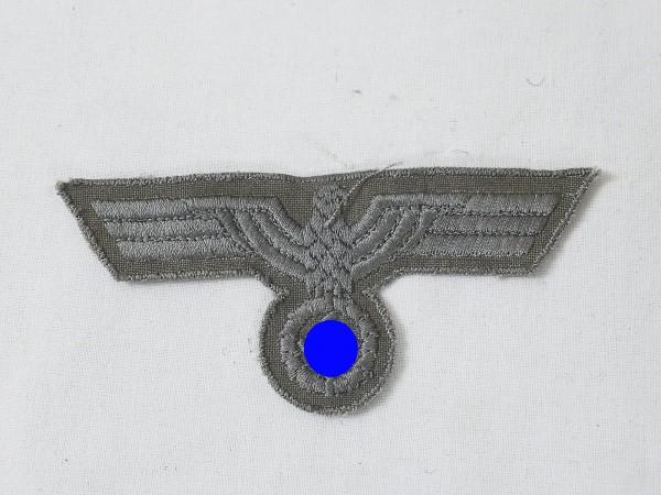 Wehrmacht Brustadler gestickt für M40 Drillich / Südfrontausführung