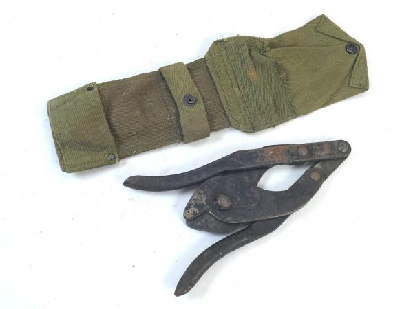 WW1/WW2 British Folding wire cutter + Cover - Britische Drahtschere #2