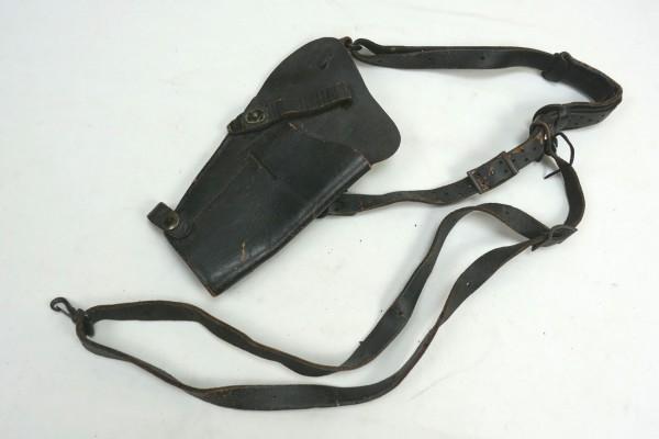 Original US Army Schulterholster Leder schwarz für Colt 1911 Vietnam