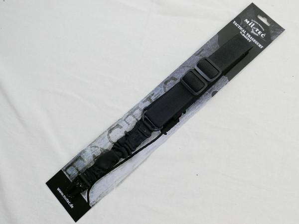 Tactical Sling 2-Punkt Tragegurt 2-Point schwarz