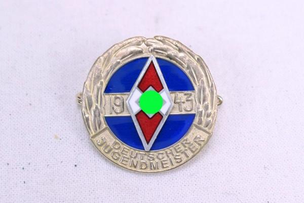 HJ Abzeichen Deutscher Jugendmeister 1943