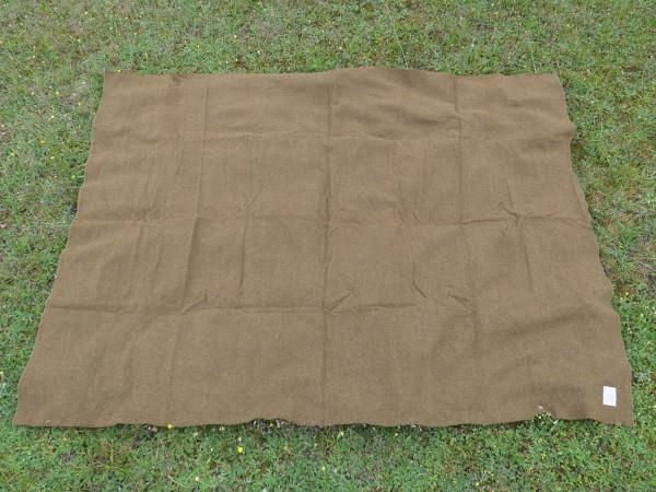 US Army M-1934 Wool virgin Blanket OD US Sani Decke Medics medical corps