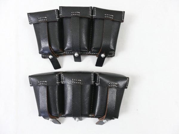 Wehrmacht Karabiner K98 1 Paar Patronentaschen für Ladestreifen K98