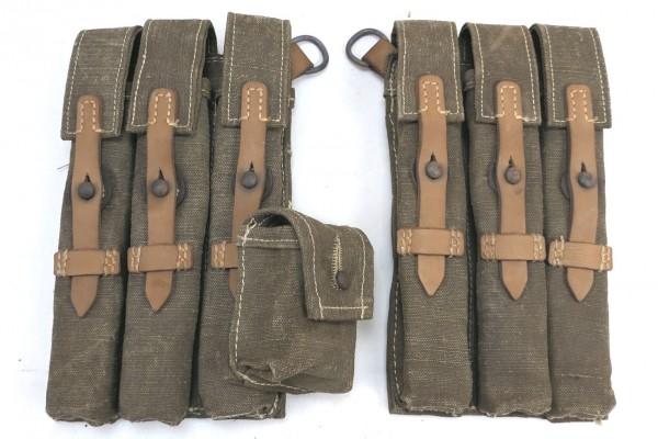 Wehrmacht MP 38/40 Magazintaschen Südfront DAK Afrika Korps