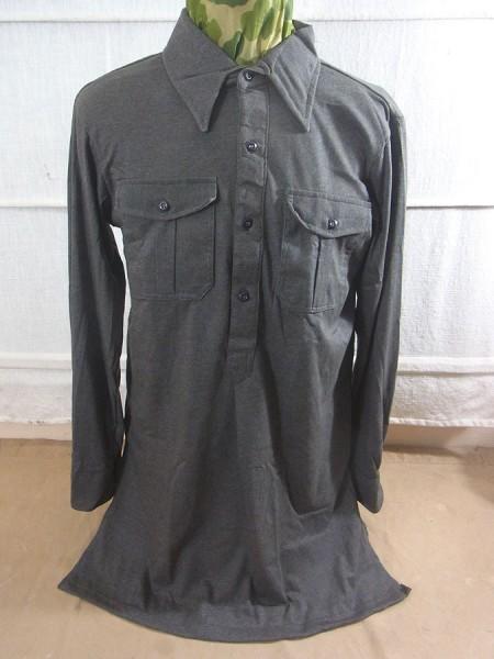 Wehrmacht Jersey Hemd für Uniform Leibchen Feldhemd feldgrau Unterhemd