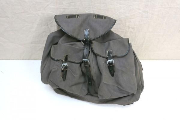 Vintage Rucksack mit Schulter Riemen wie Wehrmacht 1950er Jahre #2