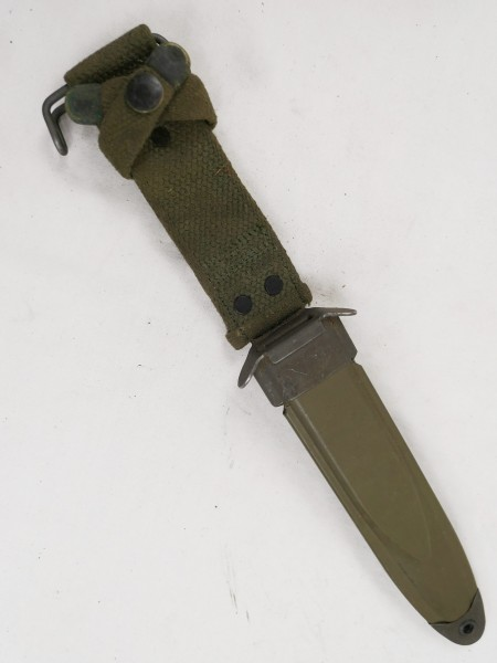 Original US M8A1 Scheide für M3 Bayonet Knife Scabbard Vietnam VIZ #12