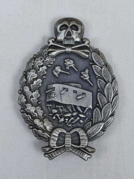 WK1 Panzerkampfabzeichen Orden Panzerkampfwagen Abzeichen