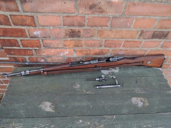 Tragegurt Gewehr 98 Leder Repro