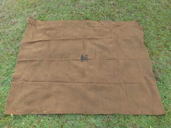 US Army Wool virgin Blanket Aesculab OD US Sani Decke Medics medical corps