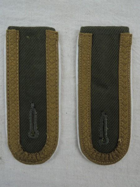 Schulterklappen Unteroffizier DAK Heer Infanterie Afrika Korps