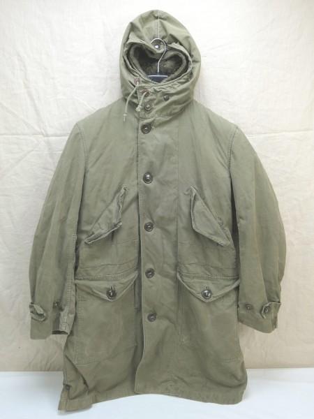 US ARMY WW2 Cold Winter Parka Overcoat D-1 SHELL PARKA Small ALPACA LINER