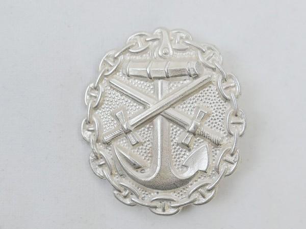 Verwundetenabzeichen Abzeichen Kriegsmarine Stufe Silber