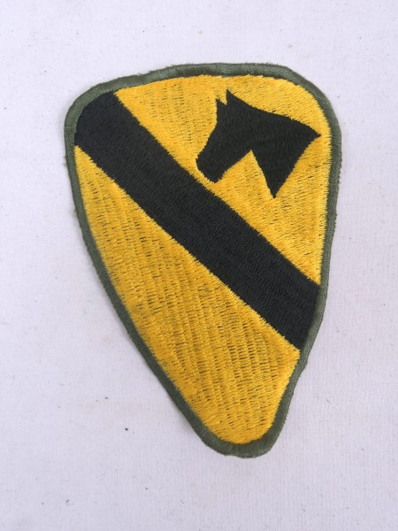 1st Cavalry Division US Army Patch