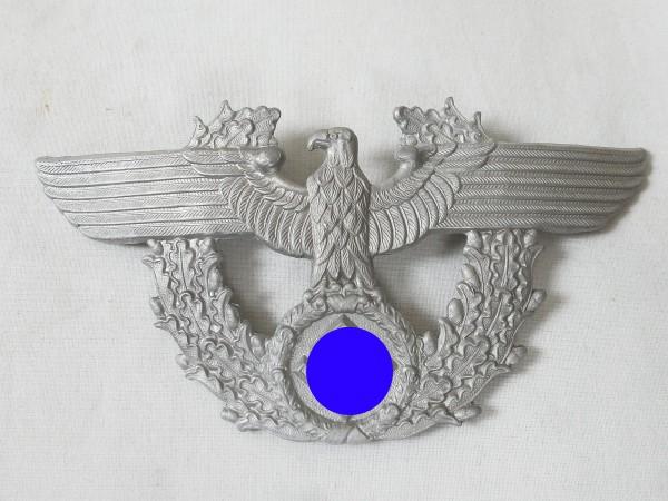 Aluminium Effekten Adler mit Eichenlaubkranz für Polizei Tschako
