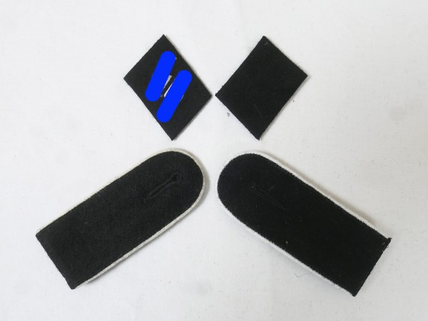 Satz Effekten Abzeichen Waffen Elite Schulterklappen Kragenspiegel für Schütze