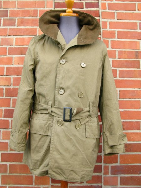 US Army WW2 Mackinaw Winter Field Jacket Feldjacke Jeep driver Coat Mantel
