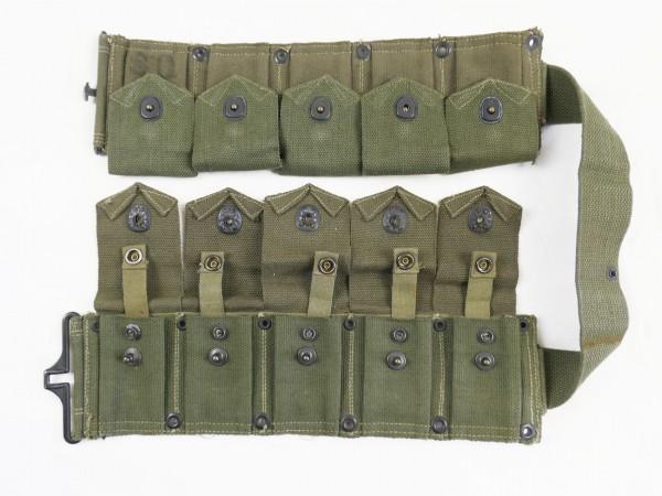 US ARMY BAR BELT Cartridge Cal.30 M-1923 Dismounted