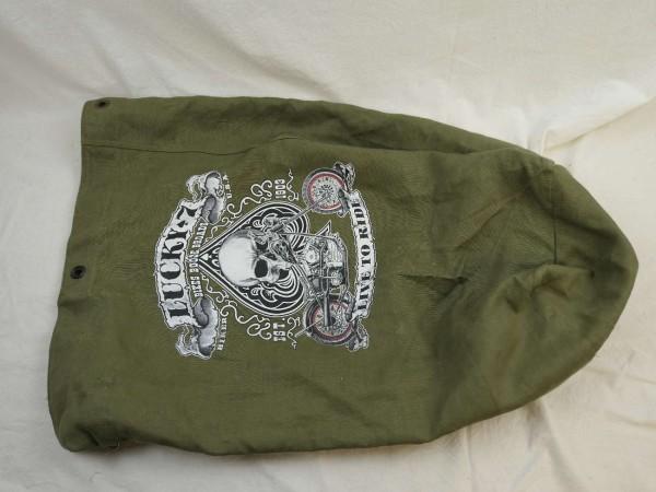 US Army Seesack mit Vintage Aufdruck