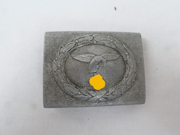 LW Alu Koppelschloss Luftwaffe Aluminium 1.Form