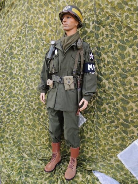 US Army M1943 Uniform nach Vorlage / Drehbuch / Filmrequisite