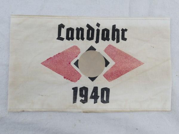"""Armbinde """"Landjahr 1940"""""""