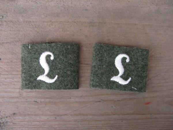 """Schulterklappen Aufschübe """"Lehrtruppenteil"""" Infanterie"""