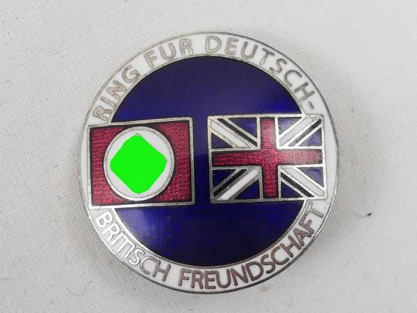 Ring für Deutsch-Britische Freundschaft Emailliert