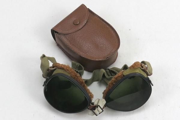 US ARMY WW2 Ski + Mountain Trooper Goggles - Gebirgsjäger Brille in Etui #4