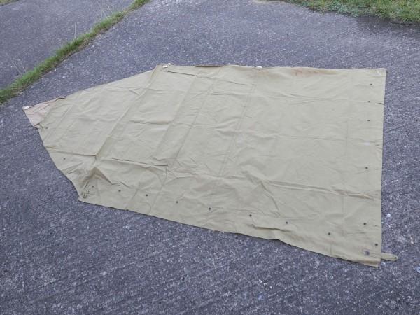 US Army Zeltbahn shelter Zeltplane Original tent shelter half - H.P. Lau Company 1942