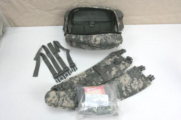 US Army Bag TC3 Combat Casualty Care ACU Molle II + Trauma Modul mit 2x QuikClot Gauze IFAK First