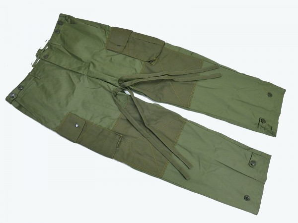 US ARMY WW2 Vintage Paratrooper Trousers Field Cotton Feldhose M-1943 rigger made
