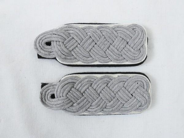 Paar Schulterklappen Waffen Elite Infanterie Major zum Aufschlaufen Schulterstücke