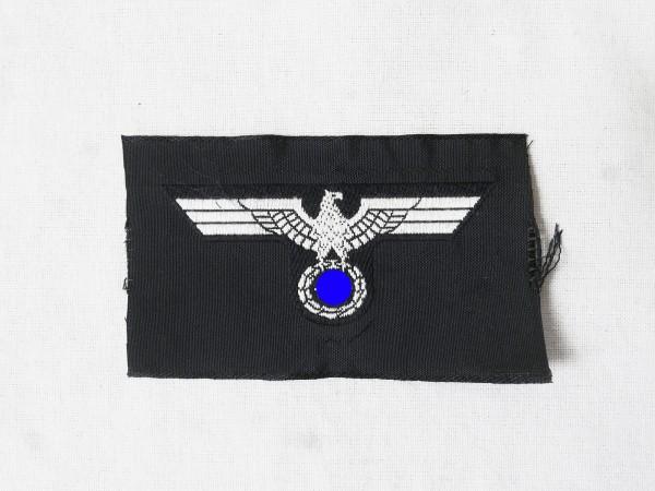 Wehrmacht Panzer Mützenabzeichen Mannschaften Mützenadler Schiffchen Feldmütze gewebt