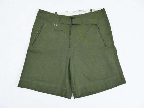 Wehrmacht DAK Afrikakorps Heer Tropenhose oliv kurz Tropen Uniform Shorts
