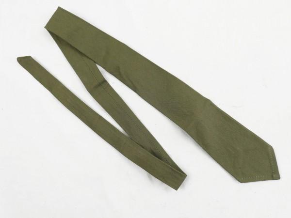 Krawatte Binder für DAK Feldhemd Tropenhemd Hemd Deutsches Afrika Korps schilfgrün Tropen